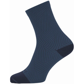 GORE WEAR C3 Optiline Chaussettes mi-hautes, orbit blue/deep water blue